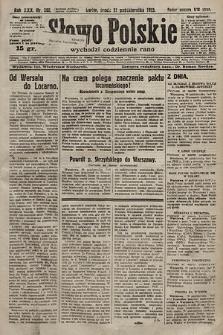 Słowo Polskie. 1925, nr288