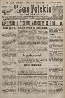 Słowo Polskie. 1925, nr305