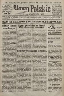 Słowo Polskie. 1925, nr307