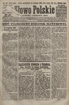 Słowo Polskie. 1925, nr314