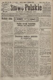 Słowo Polskie. 1925, nr330