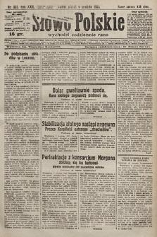 Słowo Polskie. 1925, nr332
