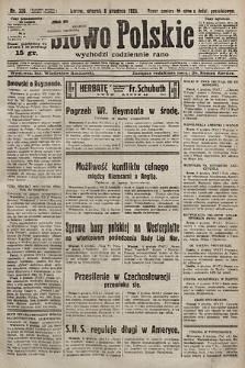 Słowo Polskie. 1925, nr336