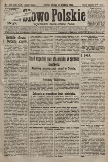 Słowo Polskie. 1925, nr339