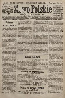Słowo Polskie. 1925, nr345