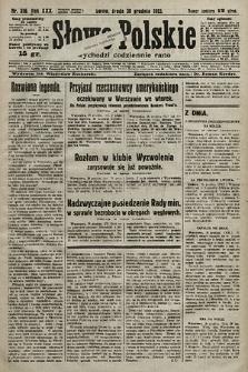 Słowo Polskie. 1925, nr356