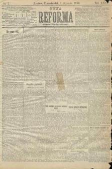 Nowa Reforma (numer popołudniowy). 1910, nr2