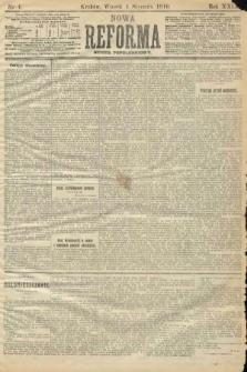 Nowa Reforma (numer popołudniowy). 1910, nr4