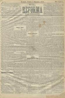 Nowa Reforma (numer popołudniowy). 1910, nr8