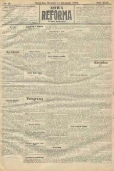 Nowa Reforma (numer poranny). 1910, nr13