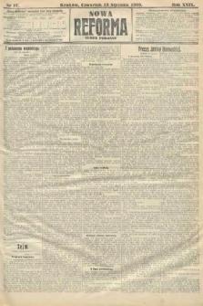 Nowa Reforma (numer poranny). 1910, nr17