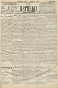 Nowa Reforma (numer popołudniowy). 1910, nr28