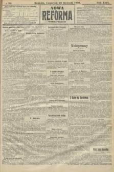Nowa Reforma (numer poranny). 1910, nr29