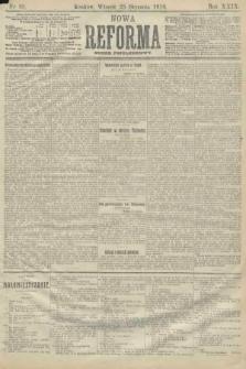Nowa Reforma (numer popołudniowy). 1910, nr38