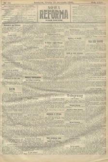 Nowa Reforma (numer poranny). 1910, nr39