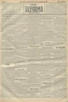 Nowa Reforma (numer poranny). 1910, nr41