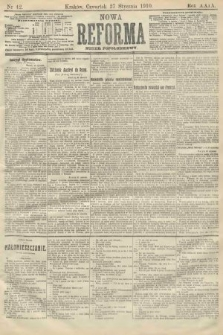 Nowa Reforma (numer popołudniowy). 1910, nr42