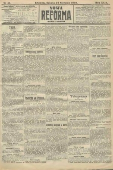 Nowa Reforma (numer poranny). 1910, nr45
