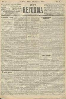 Nowa Reforma (numer popołudniowy). 1910, nr46