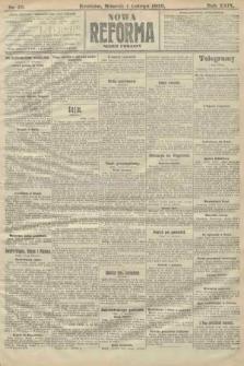 Nowa Reforma (numer poranny). 1910, nr49