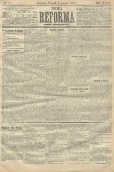 Nowa Reforma (numer popołudniowy). 1910, nr50