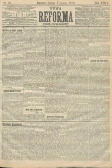 Nowa Reforma (numer popołudniowy). 1910, nr56