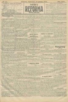 Nowa Reforma (numer poranny). 1910, nr63