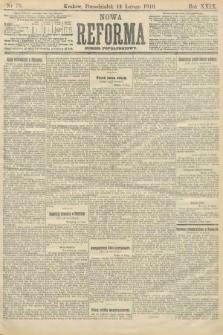 Nowa Reforma (numer popołudniowy). 1910, nr70