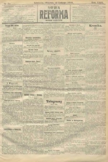Nowa Reforma (numer poranny). 1910, nr71