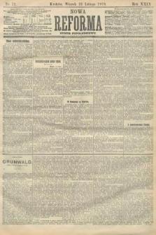 Nowa Reforma (numer popołudniowy). 1910, nr72