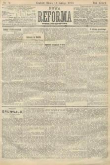 Nowa Reforma (numer popołudniowy). 1910, nr74