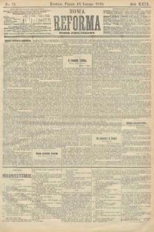 Nowa Reforma (numer popołudniowy). 1910, nr78