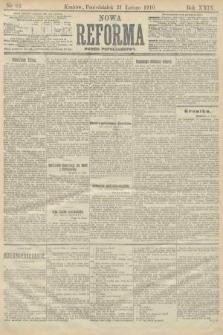 Nowa Reforma (numer popołudniowy). 1910, nr82