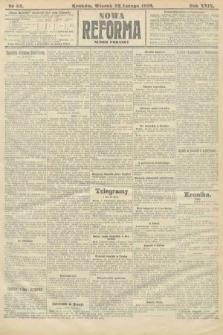 Nowa Reforma (numer poranny). 1910, nr83