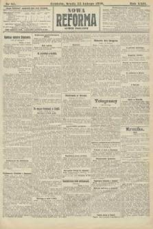 Nowa Reforma (numer poranny). 1910, nr85