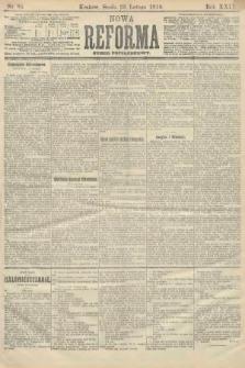 Nowa Reforma (numer popołudniowy). 1910, nr86