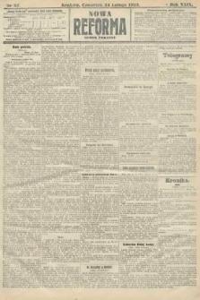Nowa Reforma (numer poranny). 1910, nr87