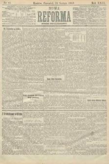 Nowa Reforma (numer popołudniowy). 1910, nr88