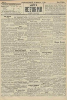 Nowa Reforma (numer poranny). 1910, nr89