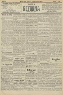 Nowa Reforma (numer poranny). 1910, nr91