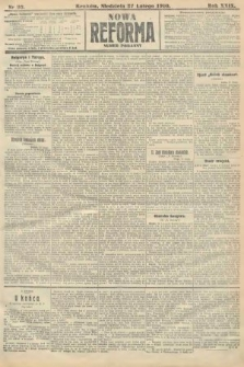 Nowa Reforma (numer poranny). 1910, nr93