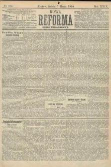 Nowa Reforma (numer popołudniowy). 1910, nr104