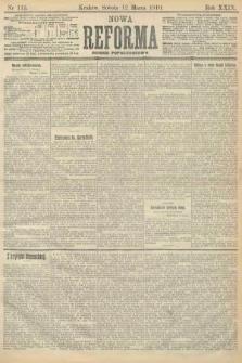 Nowa Reforma (numer popołudniowy). 1910, nr116