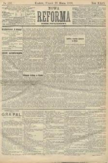 Nowa Reforma (numer popołudniowy). 1910, nr132