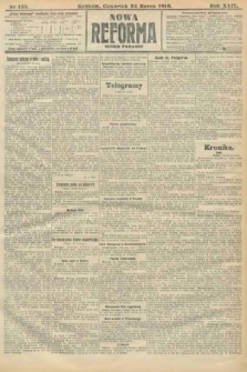 Nowa Reforma (numer poranny). 1910, nr135