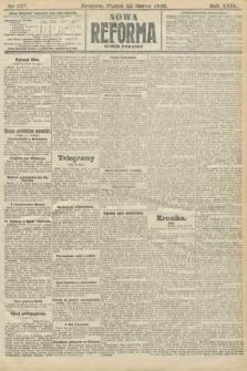 Nowa Reforma (numer poranny). 1910, nr137