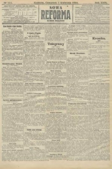 Nowa Reforma (numer poranny). 1910, nr154