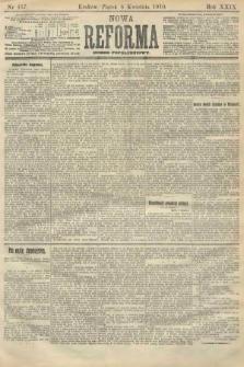 Nowa Reforma (numer popołudniowy). 1910, nr157