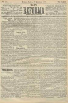 Nowa Reforma (numer popołudniowy). 1910, nr159