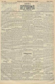 Nowa Reforma (numer poranny). 1910, nr168